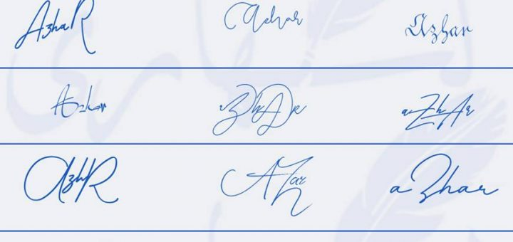 Signatures for Azhar