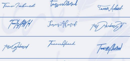 Signatures for Tanvir Ahmed