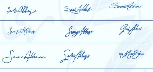 Signatures for Sami Abbasi