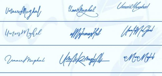 Signatures for Umair Mughal