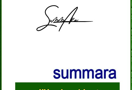 summara handwritten signature