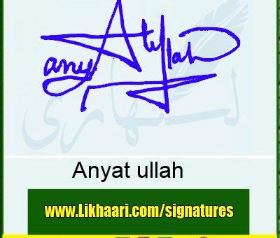Anyat-ullah--Signature-Styles