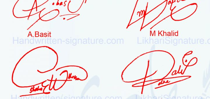 Top 4 Online Signature