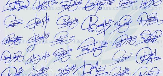 Create Signature a Like Billionaire