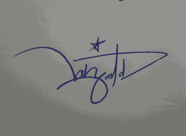 Ahmed Signature Style