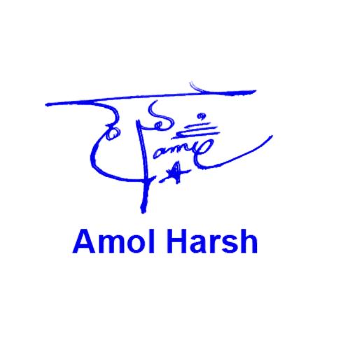 Amol Harsh Online Signature Style