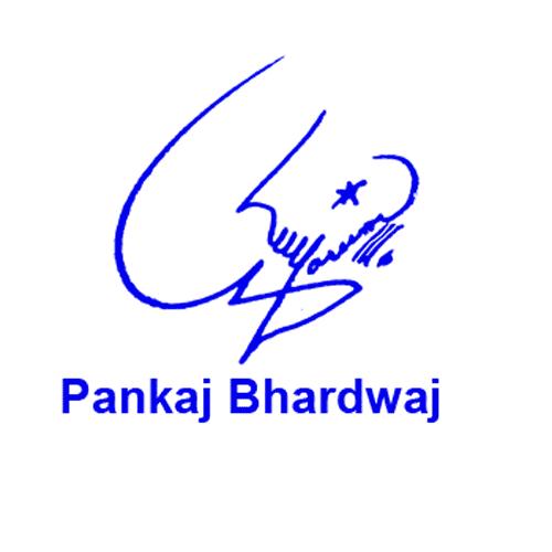Pankaj Bhardwaj Online Signature Style