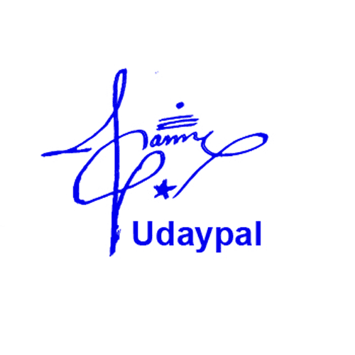 Udaypal Online Signature Style
